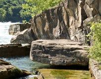 峡谷尼亚加拉岩石 免版税库存照片