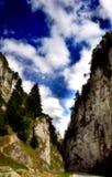 峡谷山 库存图片