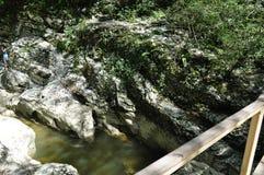 峡谷山 免版税库存图片