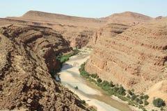 峡谷摩洛哥人 库存图片