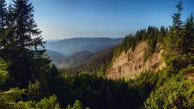 峡谷是一`地狱`在喀尔巴阡山脉 Gorgany乌克兰 免版税库存照片