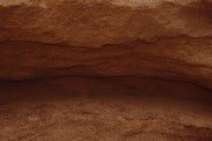 峡谷是在山的一个峡谷 免版税库存图片
