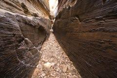峡谷槽犹他 免版税库存照片