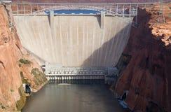 峡谷水坝幽谷 免版税库存图片