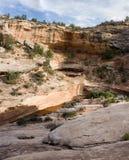 峡谷沙漠全景 免版税库存图片