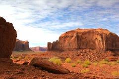 峡谷沙漠红色岩石 免版税库存照片