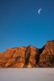 峡谷沙漠 免版税库存照片