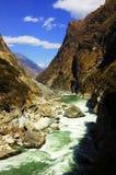 峡谷河扬子 库存照片