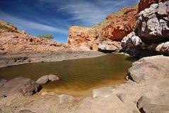 峡谷漏洞蛇纹石水 免版税库存图片