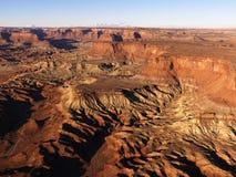 峡谷碎片 库存图片