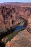 峡谷科罗拉多全部河 库存图片