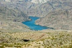 峡谷科罗拉多全部河 库存照片