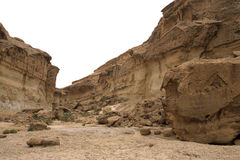 峡谷突尼斯 库存照片