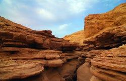 峡谷红色 免版税图库摄影