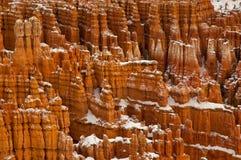 峡谷红色 库存图片