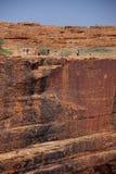 峡谷纯粹下落s的国王 图库摄影