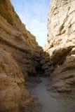 峡谷缩小的路径 免版税图库摄影