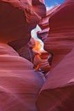 峡谷著名槽 图库摄影