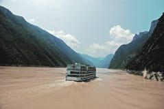 峡谷风景 免版税库存照片
