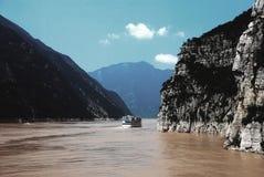 峡谷风景 库存照片
