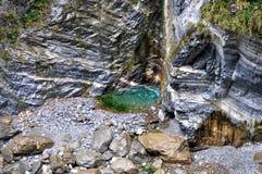 峡谷风景taroko视图 库存照片