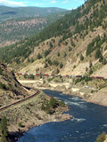 峡谷高速公路 免版税库存图片