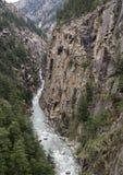 峡谷 免版税库存图片
