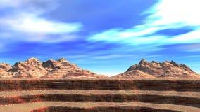 峡谷 免版税图库摄影