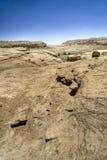 峡谷chaco废墟 图库摄影