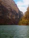 峡谷de墨西哥sumideyro 免版税库存照片