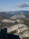 峡谷du维登在法国 免版税库存图片