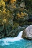 峡谷elbrus 图库摄影