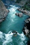 峡谷fraser河 库存图片