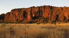 峡谷kimberley windjana 库存照片