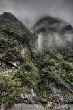 峡谷taroko 库存图片