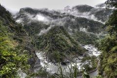 峡谷taroko 图库摄影
