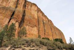 峭壁五颜六色的表面 免版税图库摄影