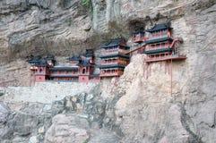 峭壁副寺庙 库存照片