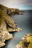 峭壁在爱尔兰 免版税库存照片