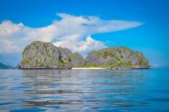峭壁在菲律宾 免版税库存照片