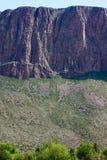 峭壁在Creede,科罗拉多 免版税库存照片