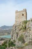 峭壁塔 免版税库存图片