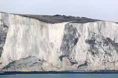 峭壁多弗白色 图库摄影