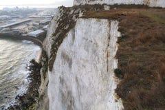 峭壁多弗白色 库存图片