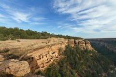 峭壁宫殿, Mesa Verde国家公园 免版税库存照片