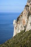 峭壁撒丁岛 免版税库存图片