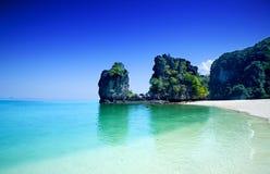峭壁洪海岛泰国结构树 库存照片