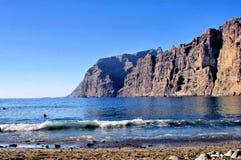 峭壁海岸 库存照片