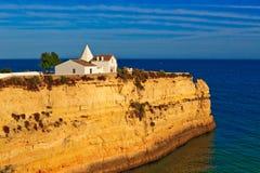 峭壁海洋 图库摄影