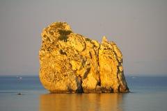 峭壁海运 图库摄影